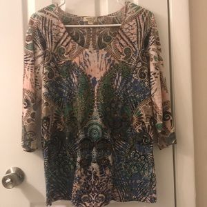 5/$25 One World long sleeve top size L